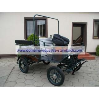 Wagonnette accès mobilité réduite