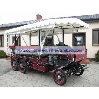 Wagonnette attelage pour personne handicapé