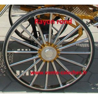 roue de voiture hippomobile