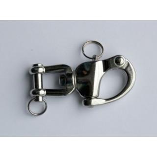 Mousquetons de sécurité attelage hippomobile 90 mm