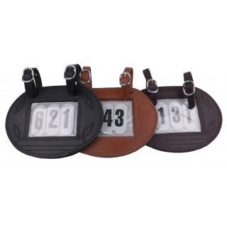porte numéros 3 chiffres pour calèche