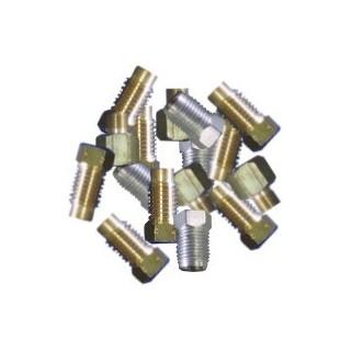 Vis de fixation M10 pour tuyaux en cuivre