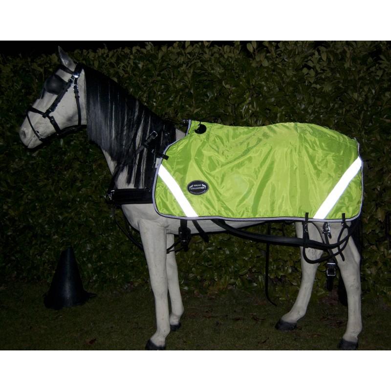 Couvre reins imperméable réfléchissant ideal equestrian