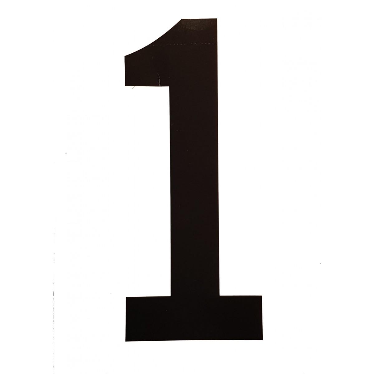 Chiffres de 0 à 9 pour portes numéros