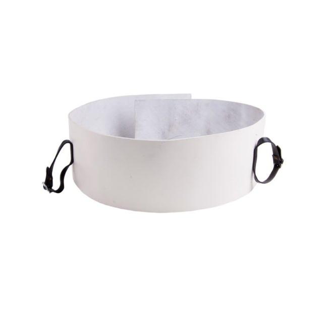 Pad blanc pour harnais frison