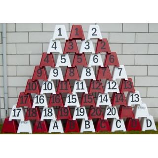 Lots trapèzes chiffres et lettres pur maniabilité en attelage