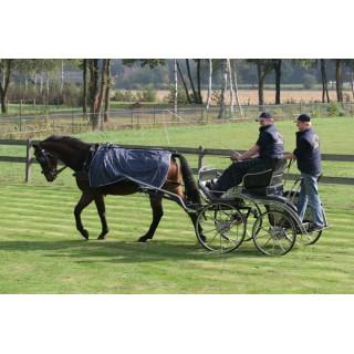 Couvre reins imperméable Idéal Equestrian