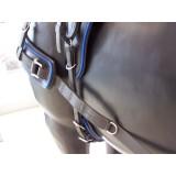 Harnais Arden biothane bricole anatomique pour atteler un cheval