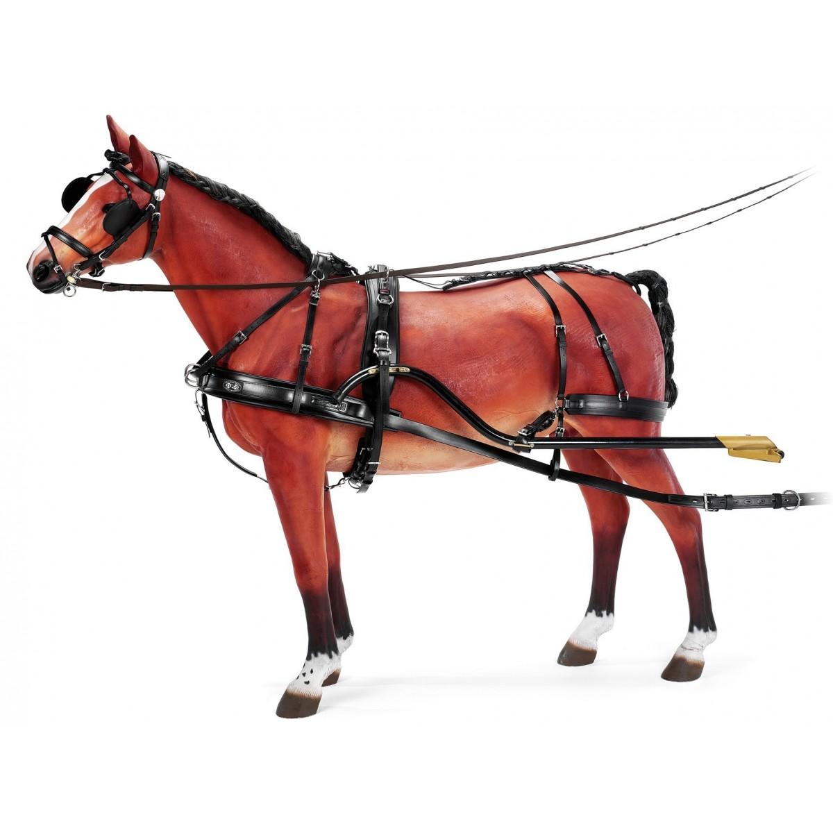 HARNAIS ZILCO GEORGES BOWMAN à un cheval