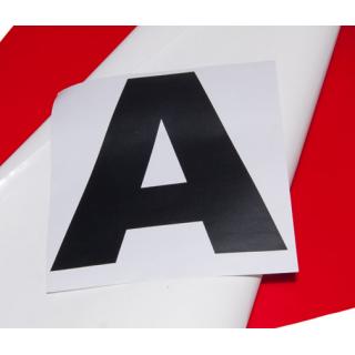 Lettres ou chiffres pour housses de cônes