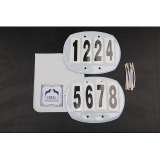 Porte numéros 4 chiffres Idéal Equestrian