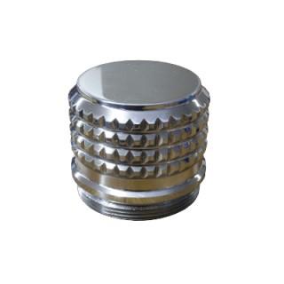 Chapeau de roue en chrome  pour calèche