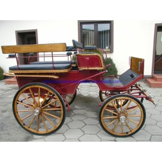 wagonnette attelage de tradition