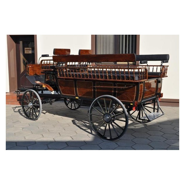 voiture hippomobile wagonnette pour atteler des chevaux. Black Bedroom Furniture Sets. Home Design Ideas