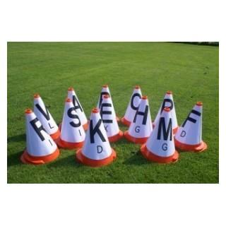 Housse lettres pour cônes de maniabilité d'attelage