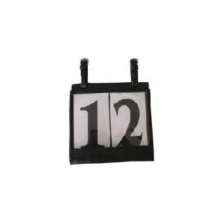 Porte numéro pour voiture 2 chiffres