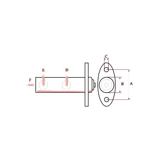 Pi/èce Dominiak Ma/ître Cylindre WK60
