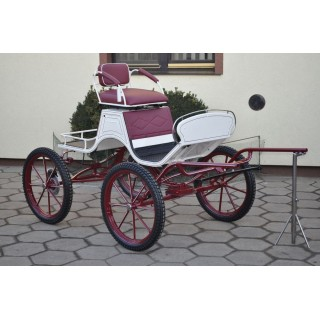 Voiture attelage hippomobile Buggy