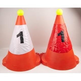 Housse numéro pour cônes de maniabilté